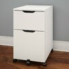 Nexera Arobas 3 Drawer Mobile Filing Cabinet