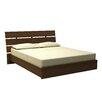 Nexera Nocce Truffle Platform Bed