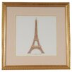 Old Modern Handicrafts Paris La Tour Eiffel Framed Graphic Art