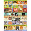 GreenBox Art Best in Show - Cats! by Donna Ingemanson Painting Print on Canvas