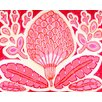 GreenBox Art Magnolia Pod by Andrew Daniel Painting Print on Canvas