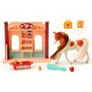 Lanard Horse Play American Painted Horse Vet Station Set