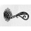 <strong>DJA Imports</strong> Ornate Door Lever with Spring Motion