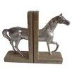 DK Living Equus 2 Piece Horse Book Ends Set