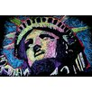 <strong>Liberty Drip 002 Canvas Print Wall Art</strong> by iCanvasArt