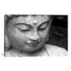 iCanvasArt Chinese Buddha Photographic Print on Canvas