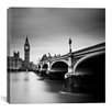 iCanvas London Westminster Canvas Print Wall Art