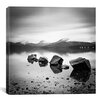 iCanvas Lomond Rocks Canvas Print Wall Art