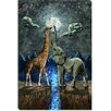 iCanvas 'Magical Forces of the Moon' by Maximilian San Painting Print on Canvas