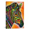 iCanvas 'Zebra' by Dean Russo Graphic Art on Canvas