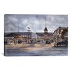"iCanvasArt ""Balboa by Moonlight, California 1920"" by Stanton Manolakas Painting Print on Canvas"