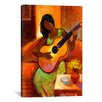 "iCanvasArt ""Ballad"" by Keith Mallett Painting Print on Canvas"