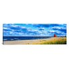 iCanvasArt Panoramic Big Red Lighthouse, Holland, Michigan Photographic Print on Canvas