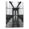 iCanvas 'Brooklyn Bridge' by Christopher Bliss Photographic Print on Canvas