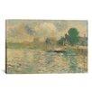 iCanvas 'Berge De La Seine 1884' by Georges Seurat Painting Print on Canvas