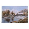 iCanvasArt 'Belle River, Ontario' by Stanton Manolakas Painting Print on Canvas