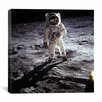 iCanvas Buzz Aldrin Moonwalker Canvas Wall Art