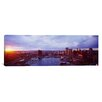 iCanvas Panoramic Baltimore Maryland Photographic Print on Canvas