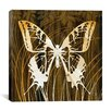 "<strong>""Butterflies & Leaves I"" Canvas Wall Art by Erin Clark</strong> by iCanvasArt"
