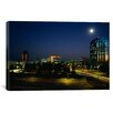iCanvasArt Panoramic Buildings Lit Up At Night, Sacramento, California Photographic Print on Canvas