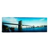 iCanvasArt Panoramic Brooklyn Bridge, East River, Brooklyn, New York City, New York Photographic Print on Canvas