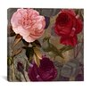 "iCanvasArt ""Birds and Roses"" Canvas Wall Art from Color Bakery"