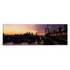 iCanvas Panoramic Bridge over a River, Benjamin Franklin Bridge, Philadelphia, Pennsylvania Photographic Print on Canvas