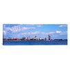 iCanvasArt Panoramic Buildings at the Waterfront Buffalo, Niagara River, New York Photographic Print on Canvas