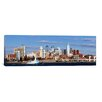 iCanvas Panoramic Buildings at the Waterfront, Delaware River, Philadelphia, Philadelphia County, Pennsylvania Photographic Print on Canvas