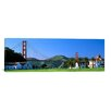 iCanvas Panoramic Golden Gate Bridge, Crissy Field, San Francisco, California Photographic Print on Canvas