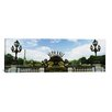 iCanvasArt Panoramic Pont Alexandre III, Eiffel Tower, Paris, Ile-de-France, France Photographic Print on Canvas