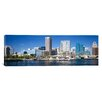 iCanvas Panoramic Buildings at the Waterfront, Baltimore, Maryland Photographic Print on Canvas