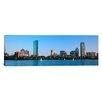 iCanvasArt Panoramic Buildings at the Waterfront, Back Bay, Boston, Massachusetts Photographic Print on Canvas