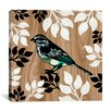 "iCanvasArt ""Bird Patchwork I"" Canvas Wall Art by Erin Clark"