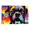 iCanvas 'Choose Adoption Boxer' by Dean Russo Graphic Art on Canvas