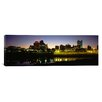 iCanvas Panoramic Buildings at the Waterfront Lit up at Dawn, Memphis, Tennessee Photographic Print on Canvas