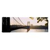 iCanvas Panoramic George Washington Bridge, New York City Photographic Print on Canvas