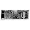 iCanvas Panoramic Buildings Along a Road London, England Photographic Print on Canvas
