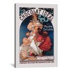iCanvas 'Chocolat Ideal' by Alphonse Mucha Vintage Advertisement on Canvas