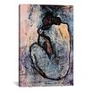 iCanvasArt 'Blue Nude' by Pablo Picasso Painting Print on Canvas