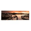 iCanvasArt Panoramic Boats in a Lake, Derwent Water, Keswick, English Lake District, Cumbria, England Photographic Print on Canvas