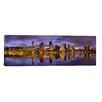 <strong>iCanvasArt</strong> Panoramic Buildings at the Waterfront, Portland, Oregon Photographic Print on Canvas