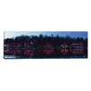 iCanvas Panoramic Boathouse at the Waterfront, Schuylkill River, Philadelphia, Pennsylvania Photographic Print on Canvas