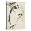 iCanvasArt Ando Hiroshige 'Blue Magpie on The Maple Branch' by Utagawa Hiroshige l Graphic Art on Canvas