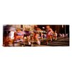 iCanvas Panoramic Blurred Motion of Marathon Runners, Houston, Texas Photographic Print on Canvas