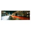 iCanvasArt Panoramic Michigan Avenue during the Holidays, Chicago, Illinois Photographic Print on Canvas