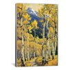 iCanvas Decorative Art 'A Path Through Autumn' by Randy Van Beek Painting Print on Canvas