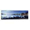 iCanvas Panoramic Boats on the Beach, Instow, North Devon, Devon, England Photographic Print on Canvas
