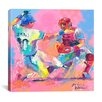 "<strong>""Baseball"" Canvas Wall Art by Richard Wallich</strong> by iCanvasArt"