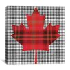iCanvas Canadian Flag, Maple Leaf #8 Graphic Art on Canvas